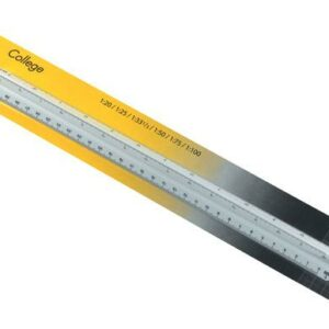 Aristo Geo College Triangular Scale Rulers - 1:20:25:50:75:100:125