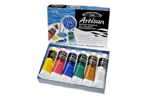 Artisan™ Water Mixable Oil Colour Beginner Set (6×37ml Tubes)