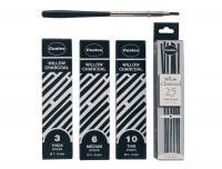 Coates Willow Charcoal - Hang Box Of 20 Asstd Sticks