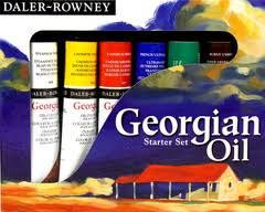 Daler-Rowney Georgian Oil Starter Set 6 x 22ml tubes