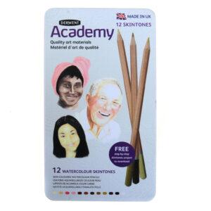 Derwent Academy Skin Tone Pencils set of 12's