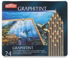 Derwent Graphitint Pencils Set of 24