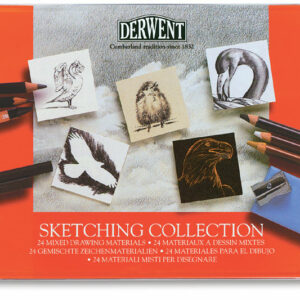 Derwent Sketching Collection Set of 24