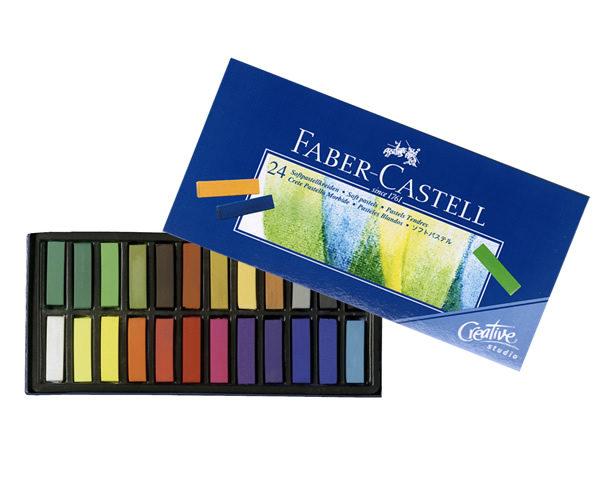Faber-Castell Creative Studio Mini Soft Pastels set of 24