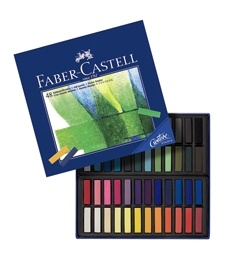 Faber-Castell Creative Studio Mini Soft Pastels set of 48