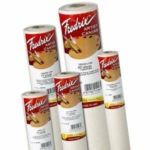 "Frederix Cotton Duck Canvas Roll 63"" x 6 yds DALLAS (569)"