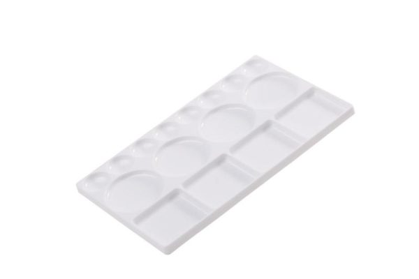 Plastic Palette rectangular - 16 well