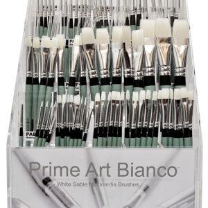 PRIME ART BIANCO BRUSHES FLAT 0