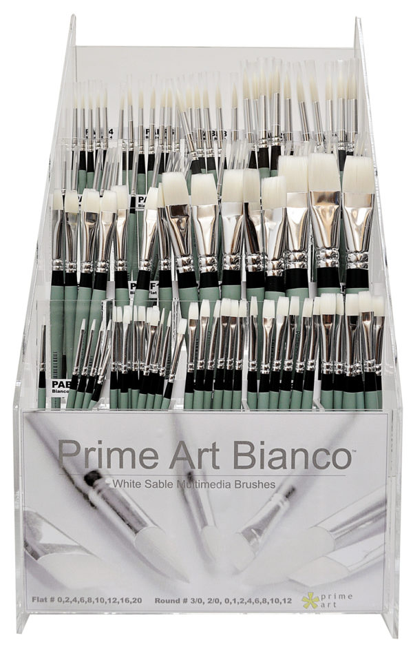 PRIME ART BIANCO BRUSHES FLAT 0