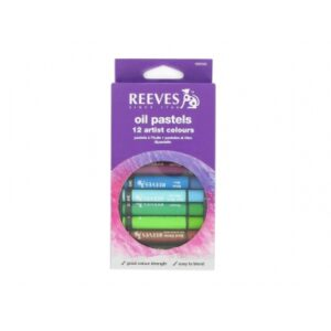 Reeves Oil Pastels Set of 12 - Large