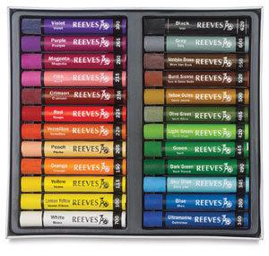 Reeves Oil Pastels Set of 24