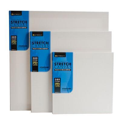 "Prime Art Artist Stretch Canvas - Regular Frame 16X16"""