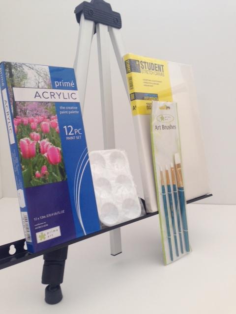 Gift Set - Acrylic Starter set with Easel