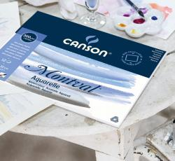 CANSON MONTVAL WATERCOLOUR PAD A4 300G 12 SHEETS SPIRAL BOUND
