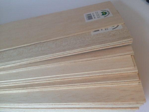 Balsa Wood Sheet 1.0x100x915mm