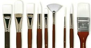 WHITE TAKLON BRUSHES