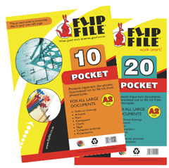 Flip File A2 20 Pockets