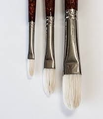 Daler-Rowney Georgian Hog Hair Brushes G12 Filbert 2