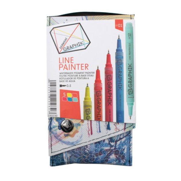 Derwent Graphik Line Painter Palette 1