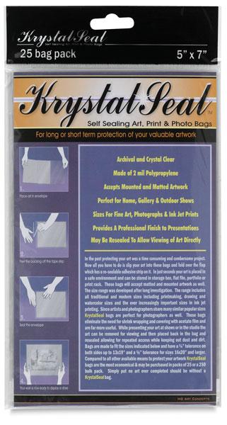 Krystal Seal Bag - pack of 25 - 12x16
