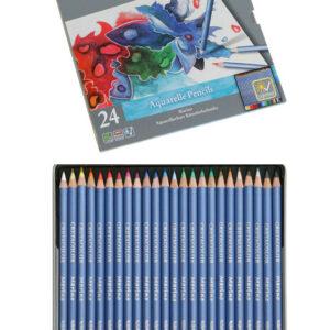 Cretacolor Marino Aquarelle Set of  24 pencils