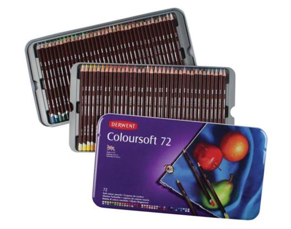Derwent Coloursoft Pencils Set of 72