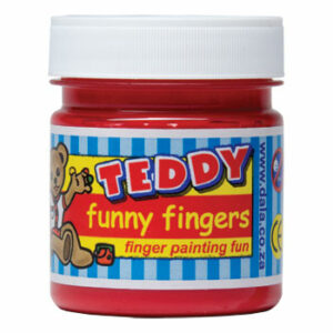 Dala Teddy Funny Fingers Finger Paint 100ml