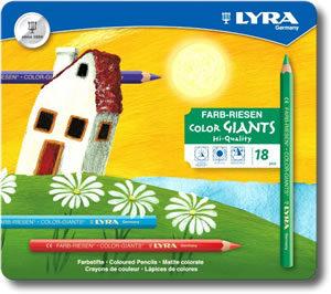 Lyra Super Ferby Pencils Tin of 18 - laquered barrel