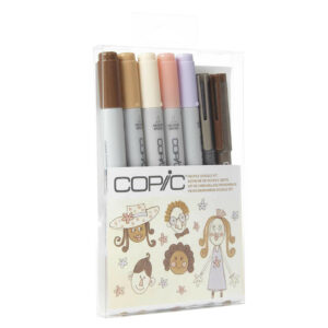 COPIC CIAO 7pc Doodle Kit People