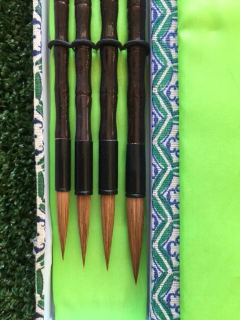 Sumi Brush Set - 4 Brushes