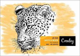 CROXLEY 40 LEAVES SKETCH BOOK