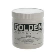 GOLDEN ACRYLIC SANDABLE HARD GESSO- 236ML