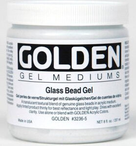 GOLDEN ACRYLIC GLASS BEAD GEL-236ML