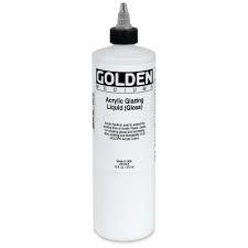 GOLDEN ACRYLIC GLAZING LIQUID (GLOSS)- 236ML- MED