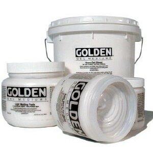 GOLDEN ACRYLIC GARNET GEL (FINE)- 236ML- GEL