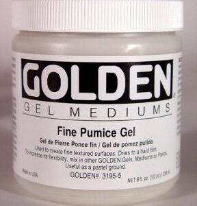 GOLDEN ACRYLIC FINE PUMICE GEL- 236ML- GEL