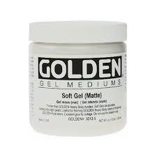 GOLDEN ACRYLIC SOFT GEL (MATTE)- 236ML- GEL