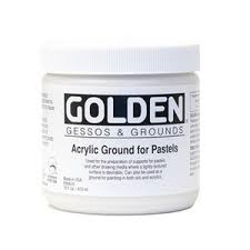 GOLDEN ACRYLIC GROUND FOR PASTELS- 236ML- GRD