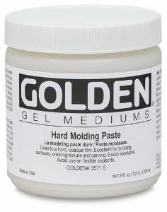 GOLDEN ACRYLIC HARD MODELING PASTE- 236ML- GEL