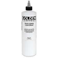 GOLDEN ACRYLIC GLAZING LIQUID (SATIN)- 236ML- MED