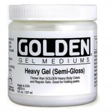 GOLDEN ACRYLIC HEAVY GEL (SEMI-GLOSS)-236ML- GEL
