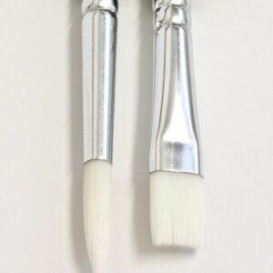 Prime Art Bianco Brushes - Flat