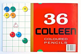 Colleen Colour Pencils set of 36