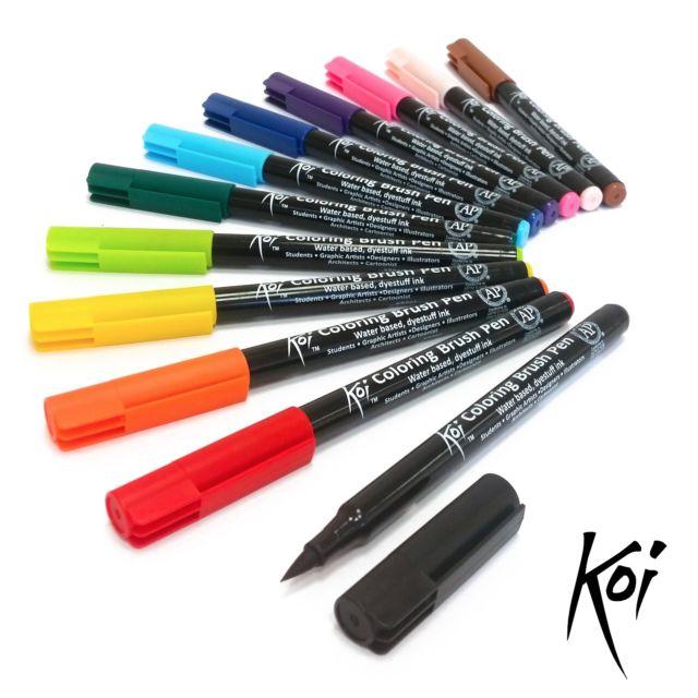 Sakura Koi Colouring Brush Pen Single Colours