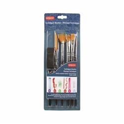 Derwent Techniques Brush Set