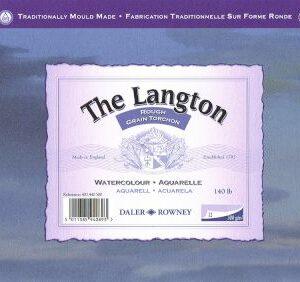 Daler-Rowney Langton Watercolour Pad 300g A4 Rough