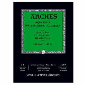 Arches Aquarelle Watercolour Pad 300g A3