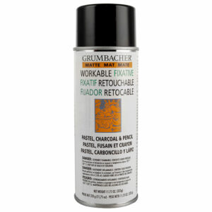 Grumbacher Workable Fixative Matte for pastel, pencil and charcoal 11.75 oz (333g)