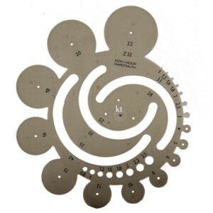 Koh-I-Noor Technical Drawing Radius Template