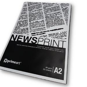 NEWSPRINT PAD A2 48g